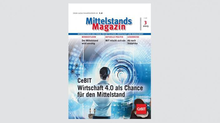Mittelstandsmagazin, Ausgabe 03/2015