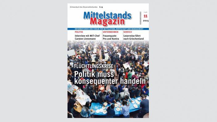 Mittelstandsmagazin, Ausgabe 11/2015