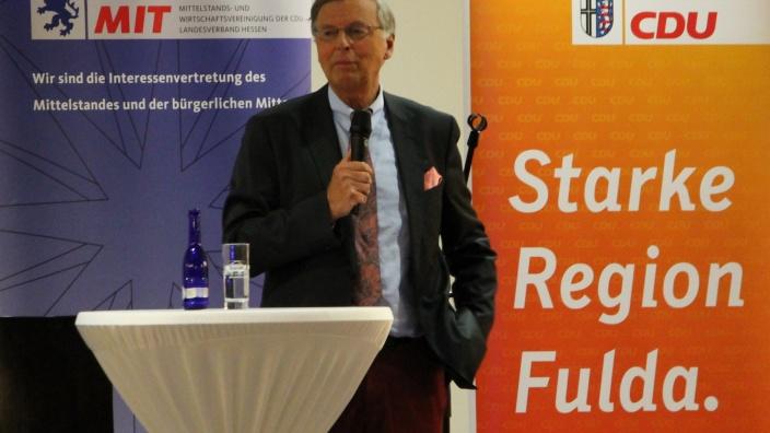 Wolfgang Bosbach zu Gast bei der MIT Fulda