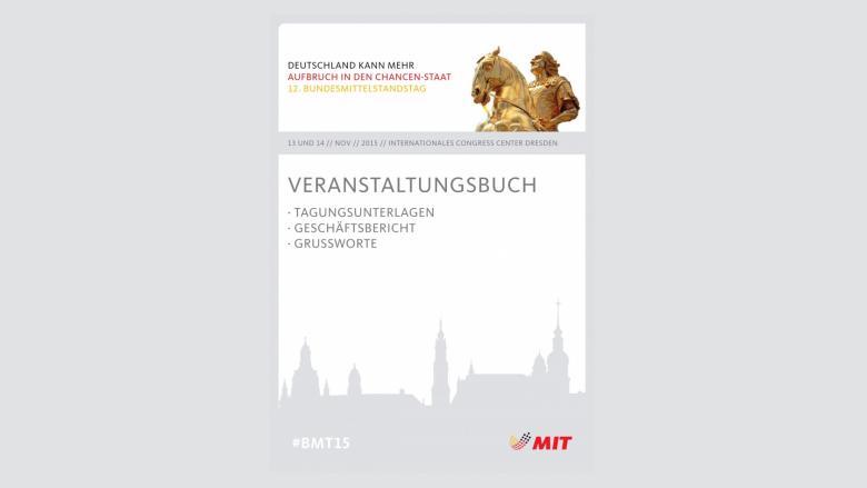 Veranstaltungsbuch mit Geschäftsbericht 2013-2015