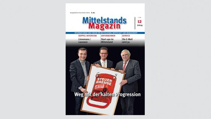 Mittelstandsmagazin, Ausgabe 12/2014