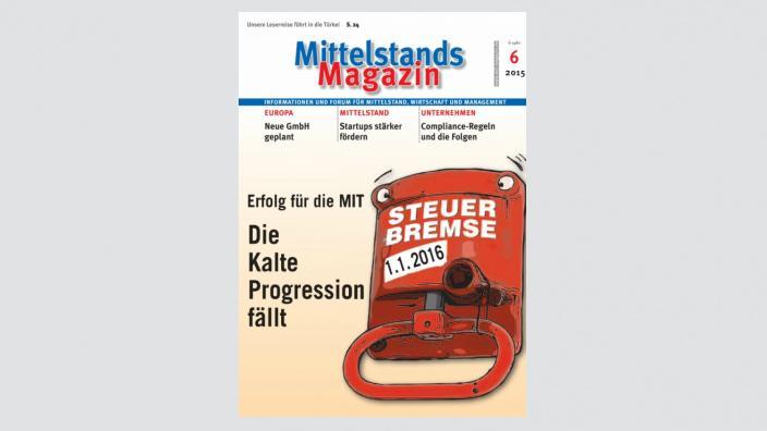 Mittelstandsmagazin, Ausgabe 06/2015