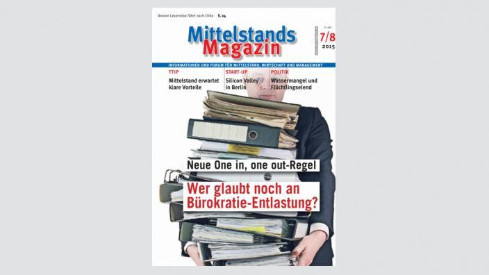 Mittelstandsmagazin, Ausgabe 07-08/2015