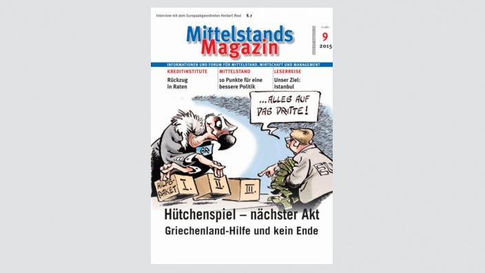 Mittelstandsmagazin, Ausgabe 09/2015
