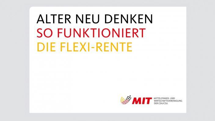 Flyer Flexi-Rente _online