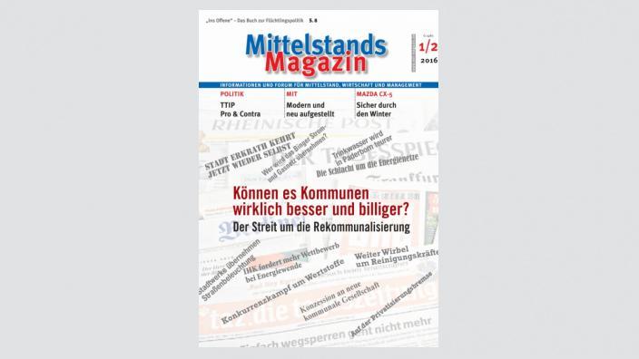 Mittelstandsmagazin, Ausgabe 01-02/2016