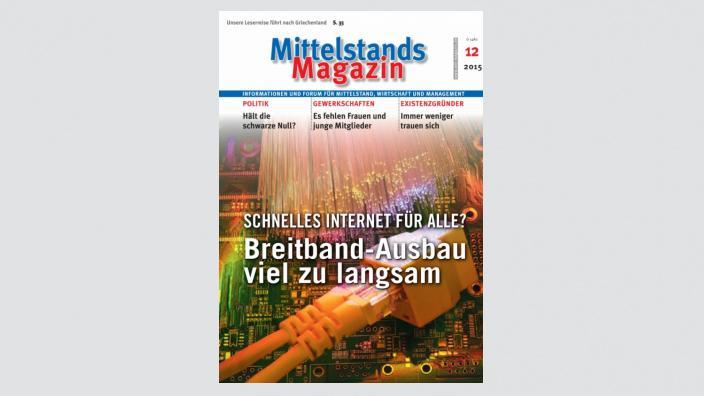 Mittelstandsmagazin, Ausgabe 12/2015