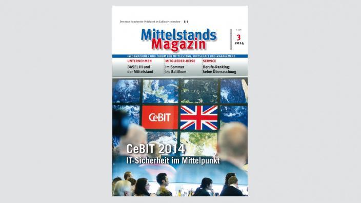 Mittelstandsmagazin, Ausgabe 03/2014