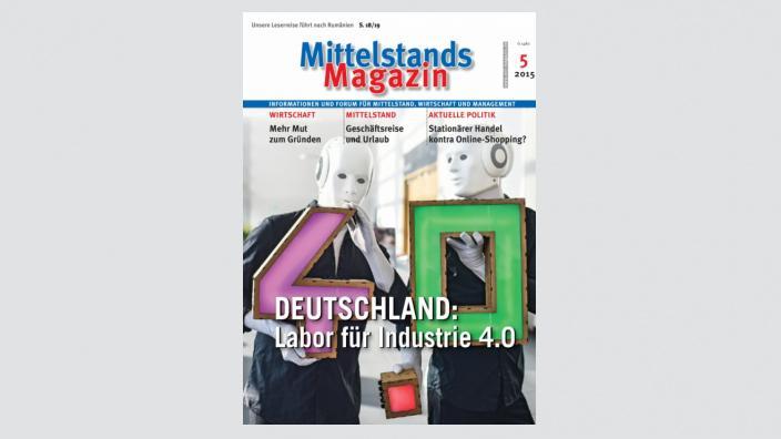 Mittelstandsmagazin, Ausgabe 05/2015