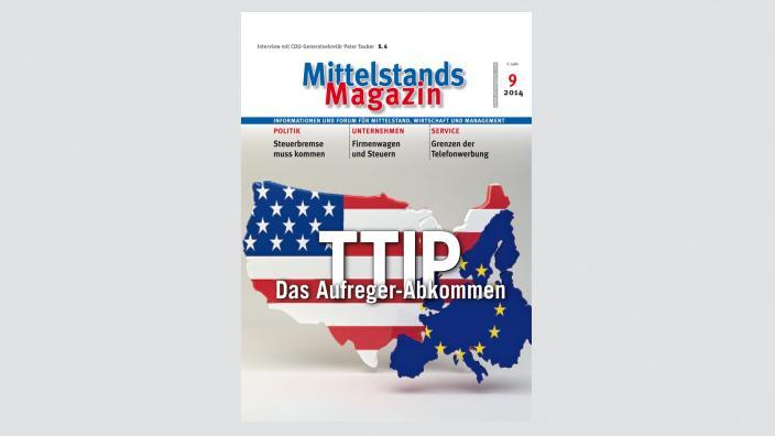 Mittelstandsmagazin, Ausgabe 09/2014